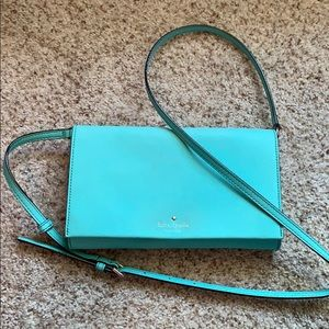 Tiffany blue Kate spade cross body